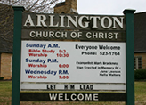 arlington church of christ